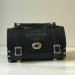 Harley Davidson Leather Bike Bag